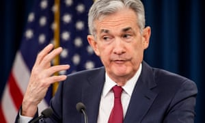 Powell defended the Fed's independence. 'Political considerations play no role whatsoever' in the Fed's decision, he said.