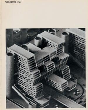 An image from Kenzo Tange's Skopje City Centre Plan.