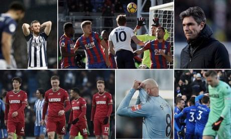 The key fixtures in the Premier League relegation battle