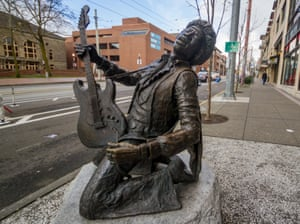 Statues of famous musicians around the world – in pictures