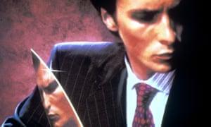 Christian Bale in American Psycho (2000).