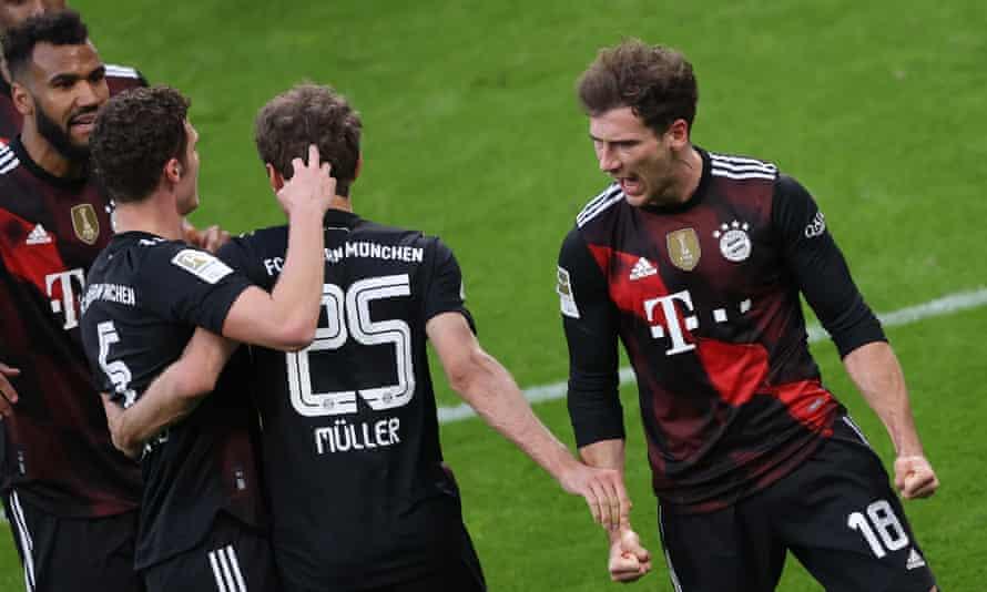 Leon Goretzka got Bayern's triumph at RB Leipzig.