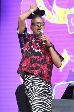 Charm and charisma ... Jeff Goldblum.