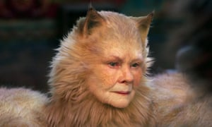 Hole story ... Judi Dench in Cats.
