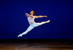 William Bracewell in Frederick Ashton's Dance of the Blessed Spirits