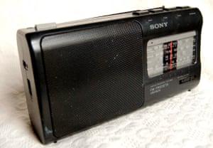 A Sony radio