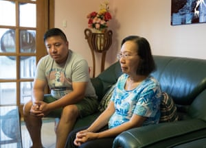 Daniel Chau and Quynh Trang Truong