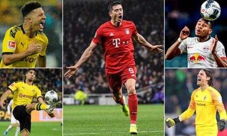 Hakimi, Nkunku, Sancho … the Bundesliga team of the season (so far)
