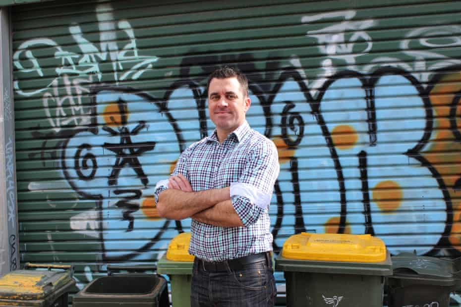 Dylan Nichols is a consultant to the waste industry and says business is booming.