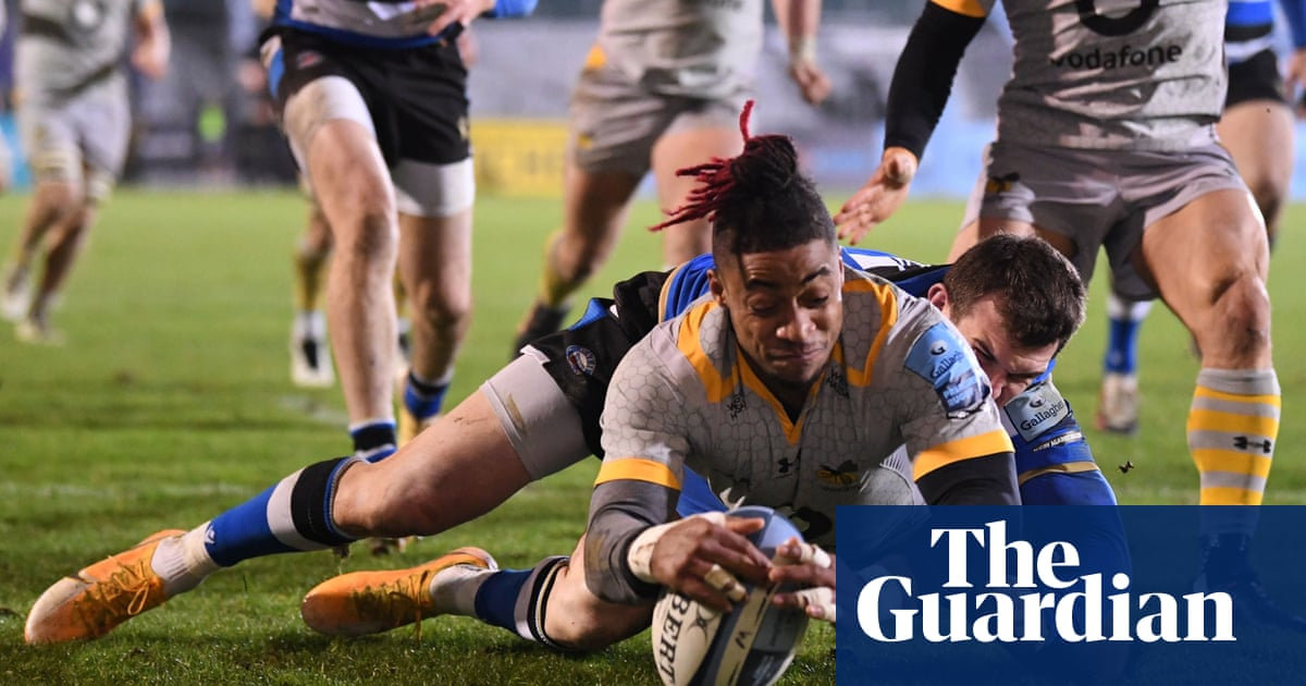Wasps fight back to win enthralling high-scoring encounter at Bath