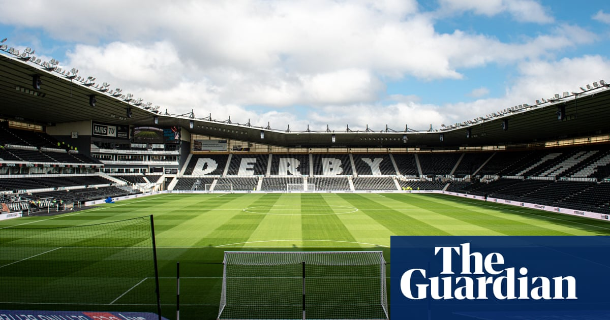 Derby County make 'tough decision' to apply to enter administration