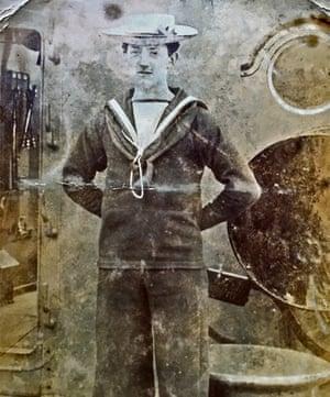 Snapshot … Jane Lamb's grandfather Claude.