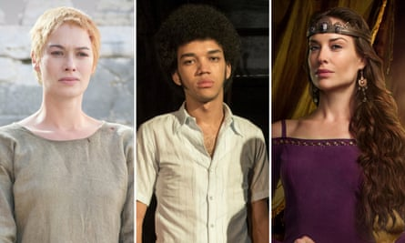 Dishing the dosh: Lena Headey in Game of Thrones, Justice Smith and Claire Forlani in Camelot
