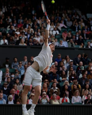 Andy Murray loses his serve.