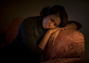 Michelle Obama in a hotel room the morning of the South Carolina primary, which Obama won