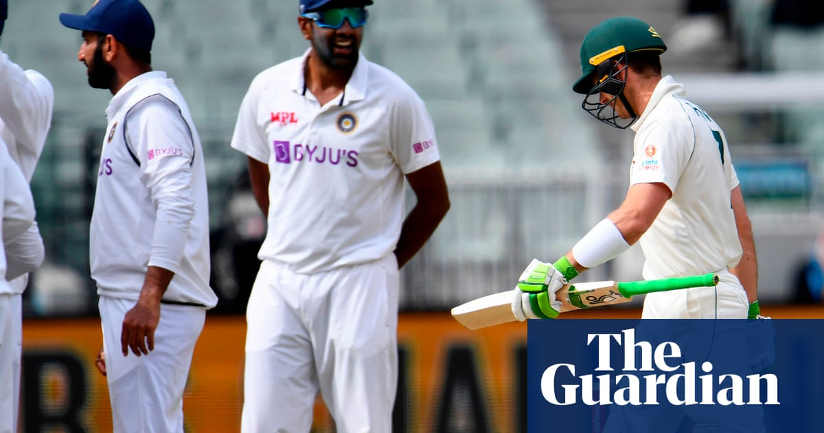 India close in on second Test as fragile Australia collapse at the MCG – The Guardian