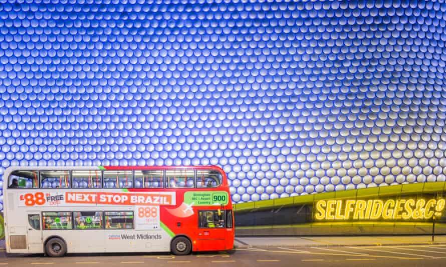 Bus in Birmingham