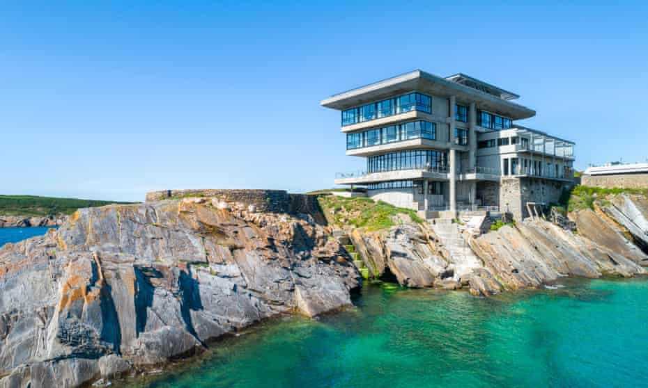 Every one of the Hotel Sainte Barbe's 34 rooms has a sea view