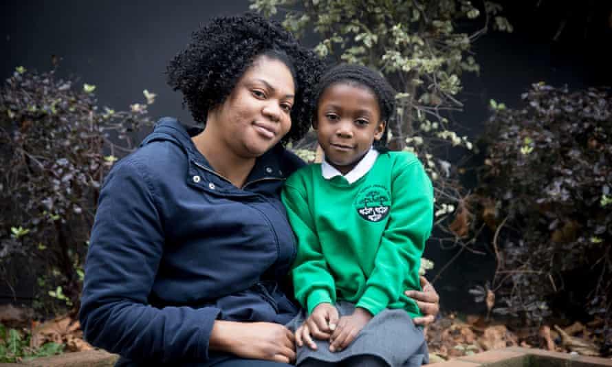Damilola Fowoshele and her daughter Rebecca