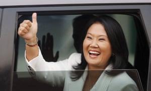 Peru's presidential candidate Keiko Fujimori