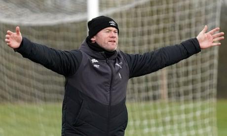 Wayne Rooney injures Derby's Jason Knight with training-ground challenge