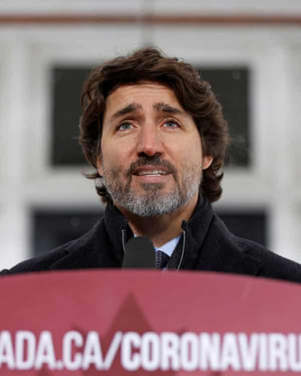 Canada's prime minister, Justin Trudeau.