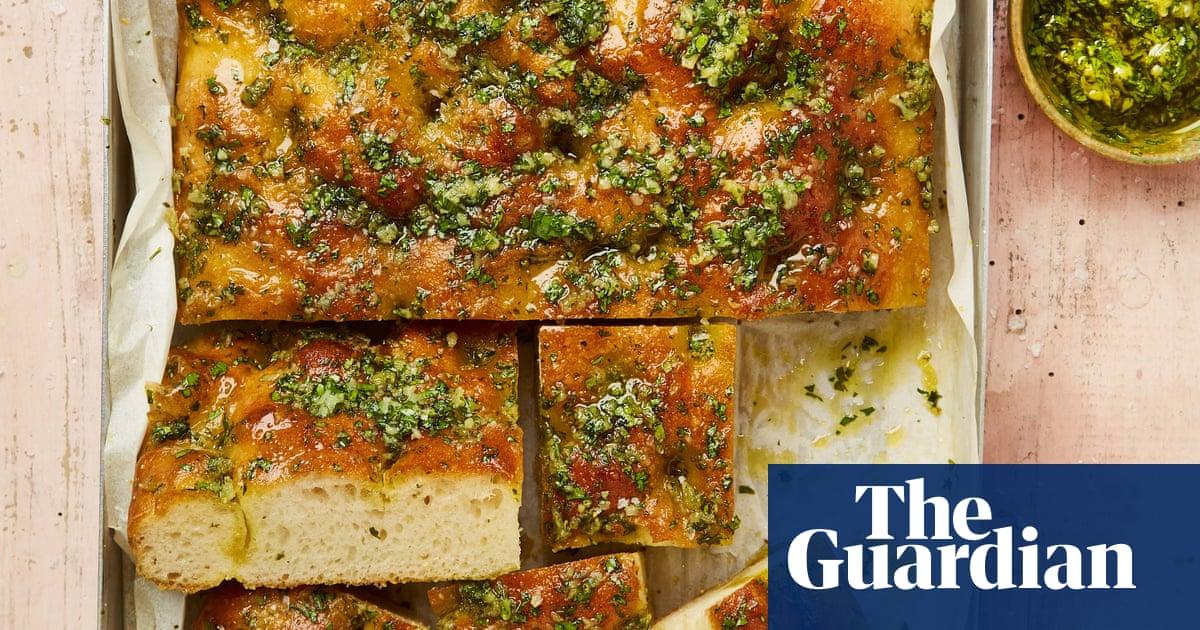 Meera Sodha's vegan recipe for 10-clove garlic focaccia