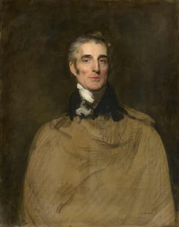 Sir Thomas Lawrence's incomplete portrait of the 1st Duke of Wellington.
