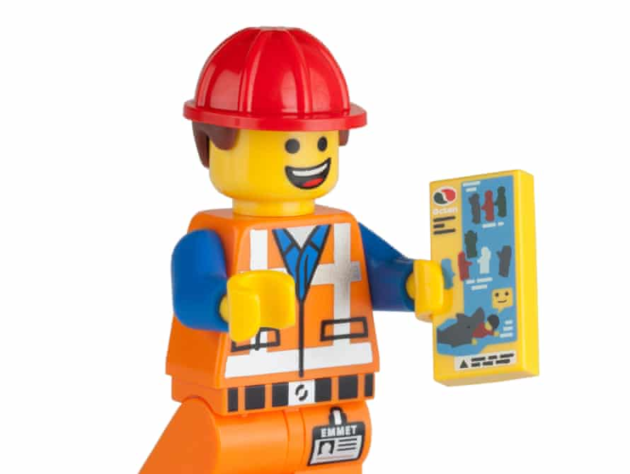 Emmet, a character from the Lego Movie