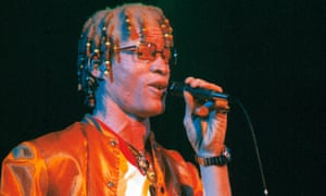 Yellowman performing in 1983.