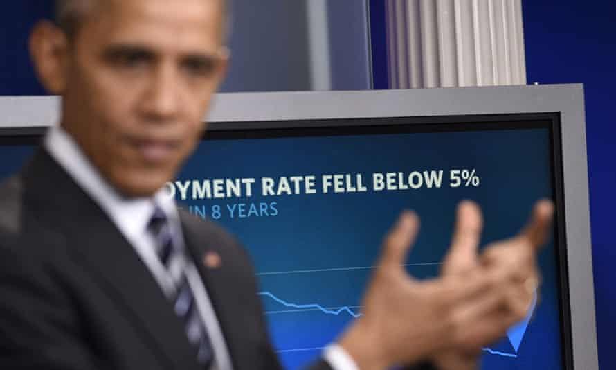 President Obama speaks about the economy on Friday.
