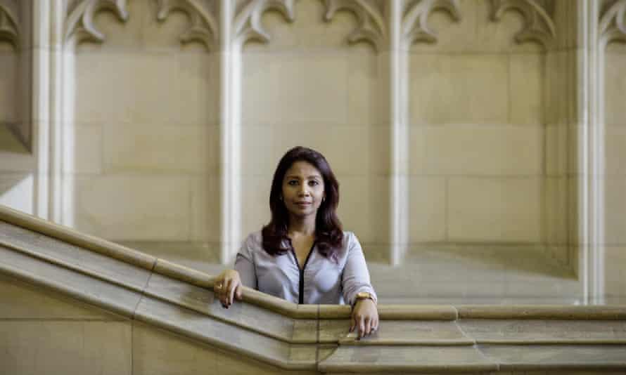 Dr Nazia Hussein at Bristol University