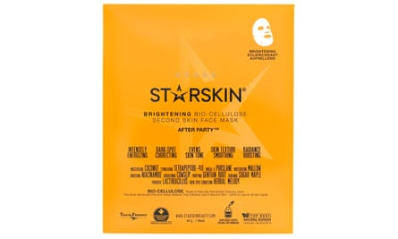 Starskin After Party brightening bio-cellulose second-skin face mask
