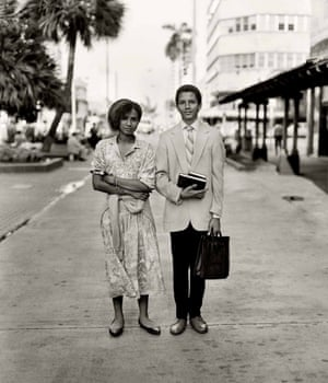 Darleen and Mike Revera, Jehovah's Witnesses Lincoln Road, South Beach, 1989
