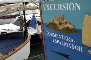 Boat trips to S'Espalmador island