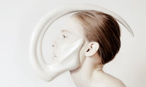 A wearable sculpture by Ana Rajcevic at Cooper Hewitt's Design Triennial.