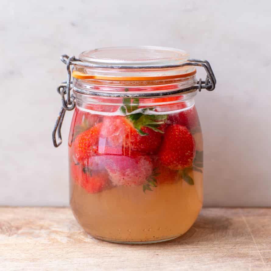 Tom Hunt's strawberry kvass