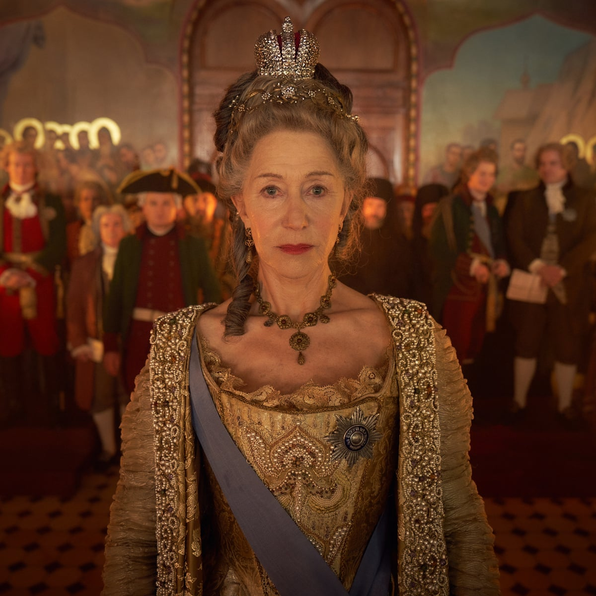 Catherine The Great Review Mirren S Labour Of Love Lacks The Magic Touch Helen Mirren The Guardian