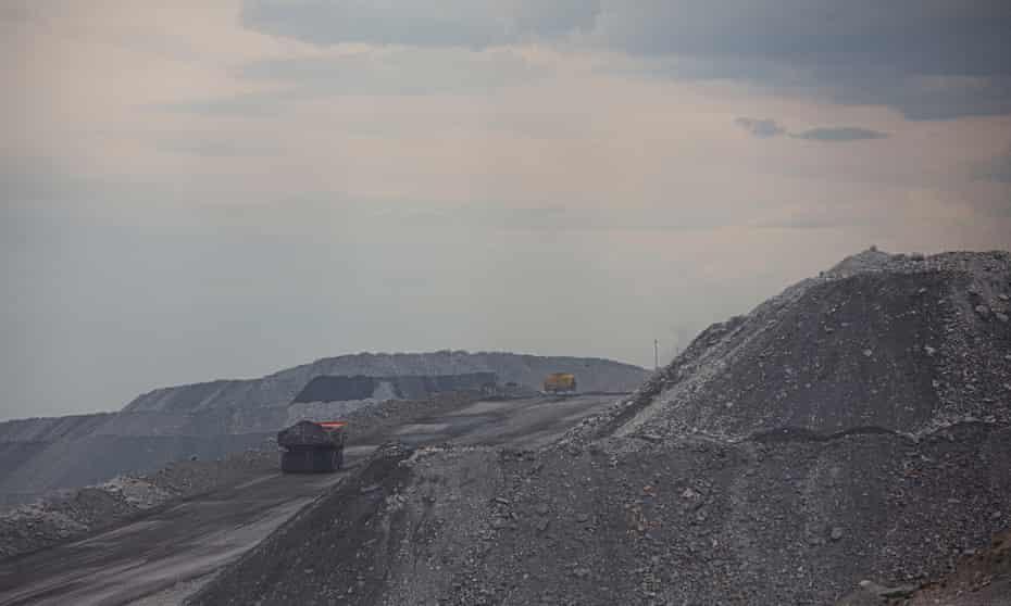 The Mount Thorley Warkworth mine, near Muswellbrook, Upper Hunter Valley, NSW, Australia.