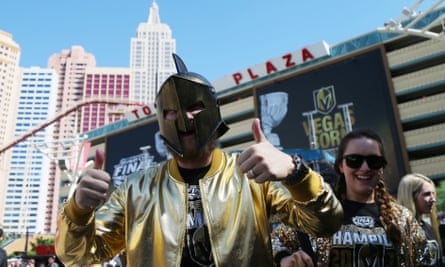 Bars are packed with the Vegas Golden Knights in the Stanley Cup finals at the T-Mobile Arena.