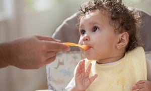baby eating