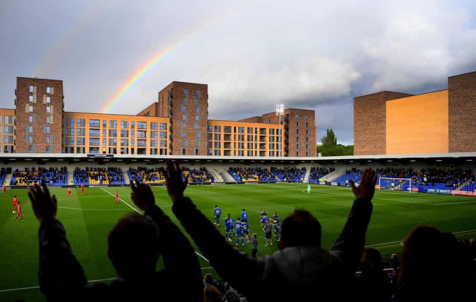 the rainbow's end.