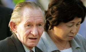 Former US army sergeant Charles Robert Jenkins and his wife Hitomi Soga in 2004.