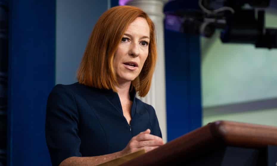 'We want a fight about getting the pandemic under control and things that actually impact people's lives,' said Psaki.