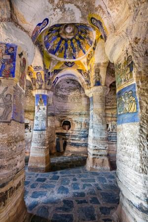 Abuna Gebre Mikael interior