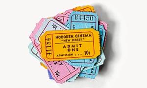 Cinema tickets for Todd Haynes's Wonderstruck, 2017