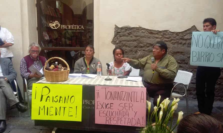 Campaign to stop Tonantzintla from becoming one of Mexico's first Smart Cities
