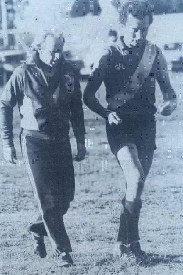 Dizzy Lynch in 1981, North Shore.