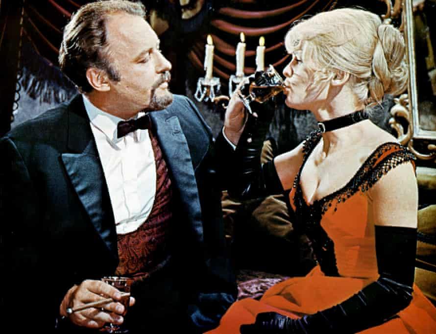 Rod Steiger, with Christie, as the venal Komarovsky.