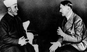 Adolf Hitler talking to mufti Haj Amin al-Husseini